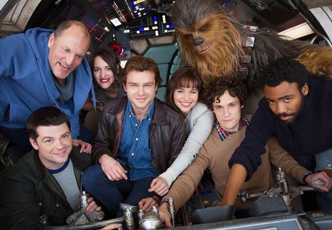 Han Solo filminden ilk görüntü yayınlandı