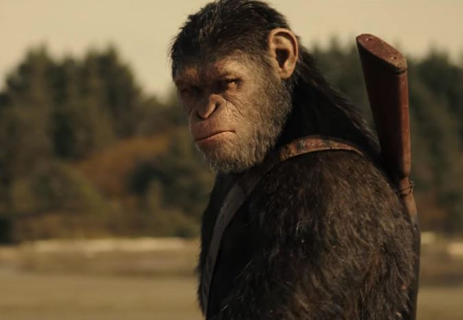 Box Office ABD: Maymunlar Cehennemi: Savaş, $56,5 milyonla gişenin zirvesine yerleşti