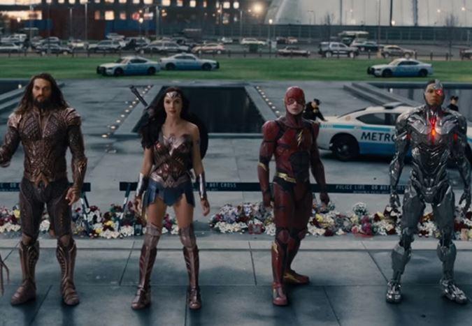 Justice League'den Comic-Con'a özel bir fragman yayınlandı