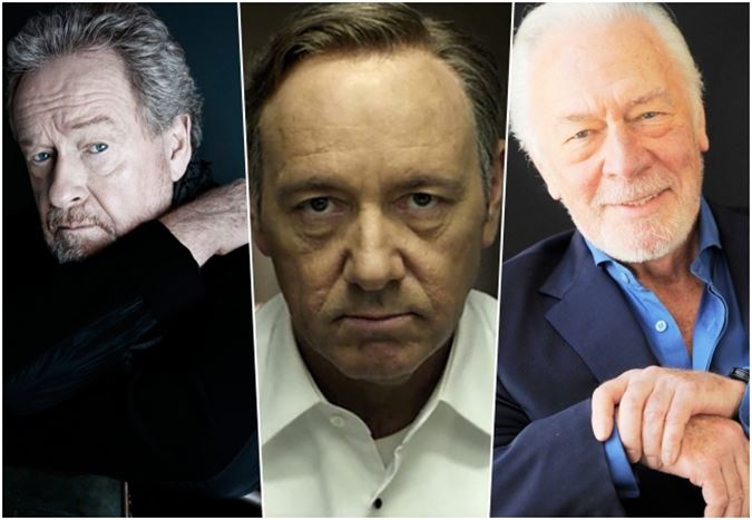 Kevin Spacey, Ridley Scott'ın yeni filmi All the Money in the World'den çıkarıldı