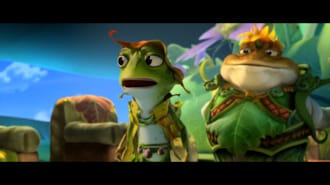Kurbağa Krallığı: Buz Macerası Filmi Fragman (Türkçe Dublajlı)