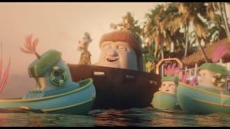 Sevimli Tekneler Filmi Fragman (Türkçe Dublajlı)