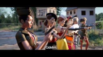 Welcome to Marwen Filmi Fragman (Türkçe Altyazılı)