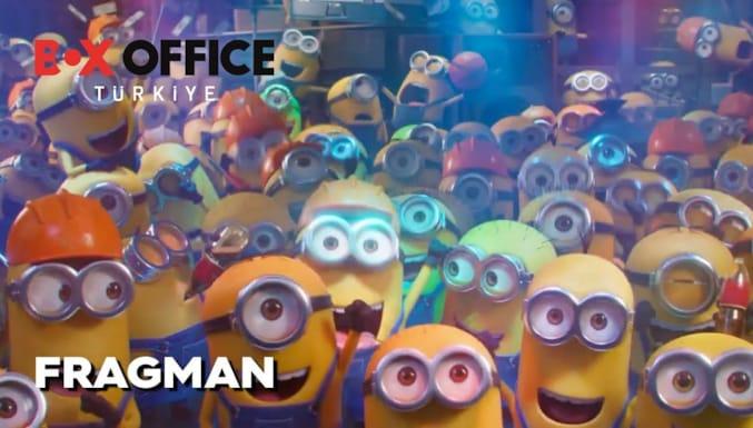 Minyonlar 2: Gru'nun Yükselişi Filmi Dublajlı Fragman