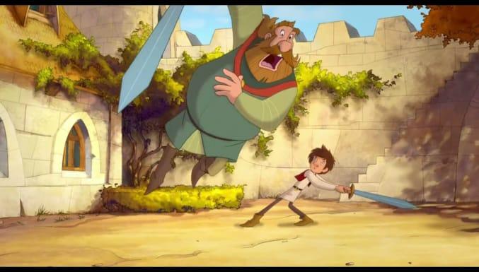 Küçük Şövalye Trenk Filmi Fragman (Türkçe Altyazılı)