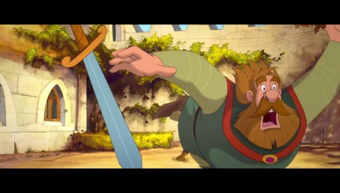 Küçük Şövalye Trenk Filmi Fragman (Türkçe Dublajlı)